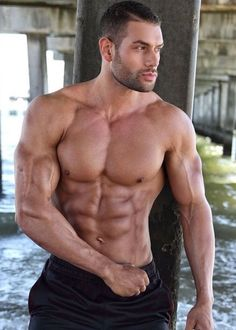 Male Model, Good Looking, Beautiful Man, Guy, Hot, Sexy, Handsome, Eye Candy, Beard, Muscle, Hunk, Abs, Sixpack, Shirtless 男性モデル