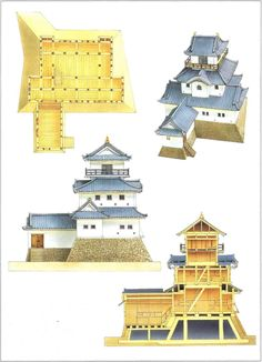 Japanese Castles 1540-1640                                                                                                                                                                                 Mais