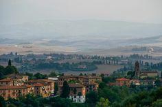 Vanuit Sienna, Toscane