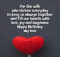 Flower printed happy birthday card for wife your wife will be romantic birthday wishes for wife occasions messages m4hsunfo