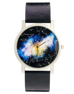 Image 1 ofASOS Watch With Galaxy Print