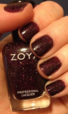 My Latest Mani: Zoya Payton from the Holiday 2013 Zenith Collection