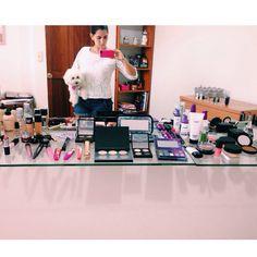 Ordenando y actualizando mi kit de maquillaje con productos nuevos y con la ayuda de Luli!  #Haul #Miami #makeup #maccosmetics #occ #dermablend #maybelline #inglot #revlon #almay #Anastasiabeverlyhills #contourkit #urbandacay #milani #tarte #smashbox #kiko #cetaphil #elf #BobbyBrown #wetnwild #soniakashuk #mua #madewithstudio