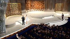 David Rockwell Group 2010 Academy Awards Set Design Kodak Theatre