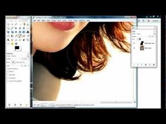 Gimp - How to CUT OUT HAIR in less than 5 minutes / REMOVE BACKGROUND - YouTube
