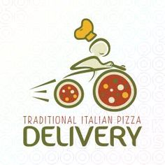 Traditional Italian Pizza Delivery logo
