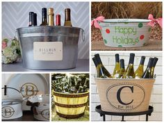 Realtor Holiday Gift Guide | 10 Best Christmas Housewarming Presents >> Beverage Tubs