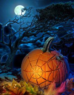 Spidy's pumpkin - Worth1000 Contests