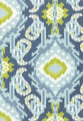 BEAUTIFY:  Beautiful! kiribati ikat schumacher. Can you imagine some pillows with a lime green pin stripe backing...thrown on a white couch for spring and summer? #springintothedream