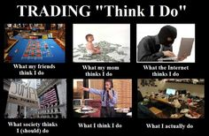 Different Meaning Of #Trading...?