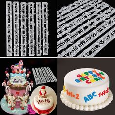6 PCS Set Letters & Numbers Cake Shape Embossing Stencil Decoration Cake Mold Pastry Cookies Cutter Baking Mould 2018 HOT SALE. Yesterday's price: US $2.59 (2.12 EUR). Today's price: US $2.59 (2.12 EUR). Discount: 13%.