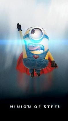 #Minion Of Steel - The #iPhone #Wallpapers