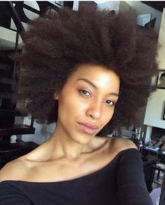 So cute #fro #afrostyle #afrohair