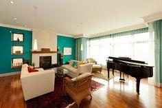 Wohnzimmer Wandfarbe Ideen Aqua Blau Helle Nuance | Wohnideen | Pinterest |  Wandgestaltung Mit Farbe, Wandfarben Ideen Und Wandgestaltung