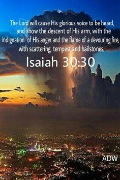 Isaiah 30:30