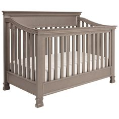 Million Dollar Baby Foothill 4-in-1 Convertible Crib Weathered Grey