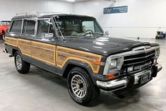 The Pick of the Day is a 1989 Jeep Grand Wagoneer, a model that has been growing in popuarlity and value as collector cars Chevrolet Camaro 1969, Chevrolet Suburban, Lifted Ford Trucks, Jeep Jk, Abandoned Cars, Jeep Grand, Collector Cars, Bugatti Veyron, Land Rover Defender