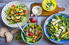 Menu plné svěží zeleniny, které bude chutnat nejen v létě
