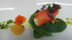 Salmon spinach