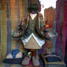 . ERAL55' Military x Classic style. . #milan #italy #japan #fashion #vintage #military #suit #used #shop #street #sartoria #tailor #bespoke #handmade #menswear #shopping #visualmechandising #style #photooftheday #swag #eral55 #eralcinquantacinque #sartorialazzarin #instagood #outfit #イタリア #ミラノ #セレクトショップ #ビンテージ #古着