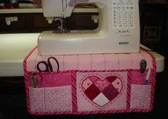 Sewing Machine Organizer Pattern Free Mat Tutorial