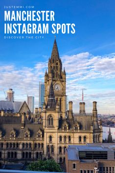 A guide to Manchester's best Instagram spots including rooftops and the Northern Quarter. Manchester Town Hall, Manchester Travel, Manchester Hotels, Manchester England, Travel Guides, Travel Tips, Hotel Reviews, Cool Places To Visit, Day Trips