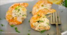 Shrimp And Sausage Pasta, Crab Stuffed Shrimp, Cajun Shrimp, Seafood Dinner, Seafood Stew, Amy Myers, Stuffing Recipes, Fresh Garlic, Food Print