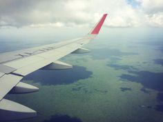 Vervoer in en rond Playa del Carmen Riviera Maya, Cancun, Airplane View, Playa Del Carmen