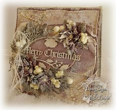 Tattered Treasures: A Vintage Christmas Card