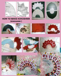 How to make kokoshnik by seawaterwitch.deviantart.com on @deviantART