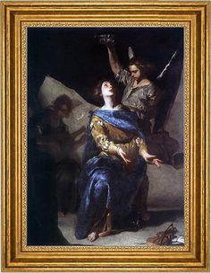 The Ecstasy of St Cecilia