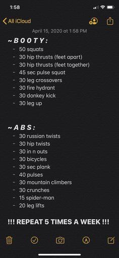 Workout for a nice summer bod ! Fitness Workouts, Gym Workout Tips, Fitness Workout For Women, At Home Workout Plan, Easy Workouts, Workout Challenge, At Home Workouts, Month Workout, Full Body Gym Workout