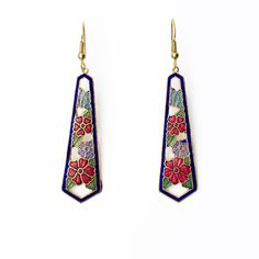Hibiscus Earrings... Pretty!