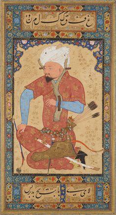 An Uzbek Prisoner   Read Persian Album   Herat, Afghanistan   ca. 1600   The Morgan Library & Museum