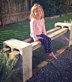 Foto : Zum Bau einer Gartenbank