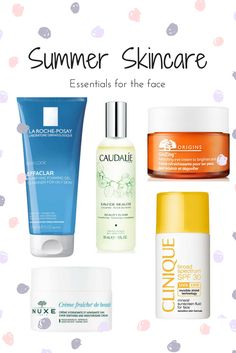 With the hot weather in full force the skin is going to need all the help it can get. Here are the top summer skincare products for the face.
