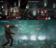 Midgar PS4 remake Final Fantasy VII ~ this had better be A Thing!