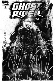 Ghost Rider 2099. Chris Bachalo.