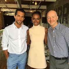 I'm here with @jastookes & @thrsorenson real life couple in the new Calvin Klein Eternity Now ad campaign.