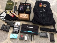 LOADOUT: EDC SHADO I love it when readers decide to share the content of their packs. Here is Brian's new SHADO Pack set up…