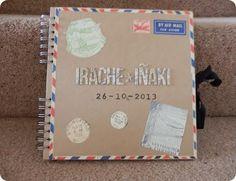 Álbum de firmas personalizado / Guest book