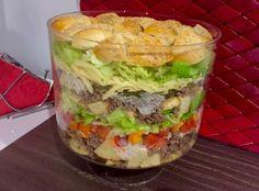 Sałatka Big Mac - Blog z apetytem Big Mac, Meat Diet, Salad Recipes, Healthy Recipes, Polish Recipes, Food Design, Hamburger, Food Porn, Food And Drink