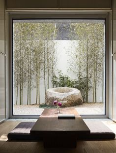 Indoor Gardens For Your Home Zen Garden Design, Zen Design, Yard Design, House Design, Jardin Zen Interior, Patio Interior, Interior And Exterior, Japanese Interior Design, Home Interior Design