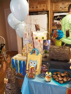 Owl decorations
