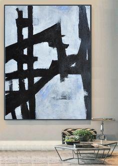 Large Abstract Art Handmade Painting Minimalist by CelineZiangArt