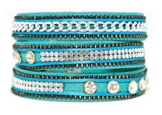 Turquoise Wrap Indian-inspired Bracelet from Boho Betty #BohoBetty #Wrap