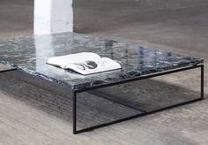 La table basse en marbre, un classique chic qu'on adopte au salon - Elle Décoration