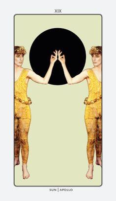 Sun / sole / Apollo  Tarot Fashion por Oleg Mitrofanov