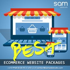 SAM Web Studio is a specialized #EcommerceWebsite Design and Development Company based in India which is offering high end #websolutions. As the internet industry is progressing, more business houses are in need of #onlinestores. We are specialized in developing & designing virtual stores for your business.