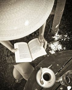 Coffee and a good book...what more could you ask for?